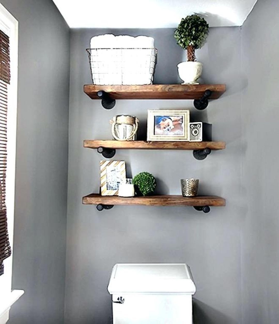 15 Interesting Floating Wall Shelves For Your Bathroom Style Ideas Design Decorating Diy Shelves Bathroom Diy Wall Shelves Shelves
