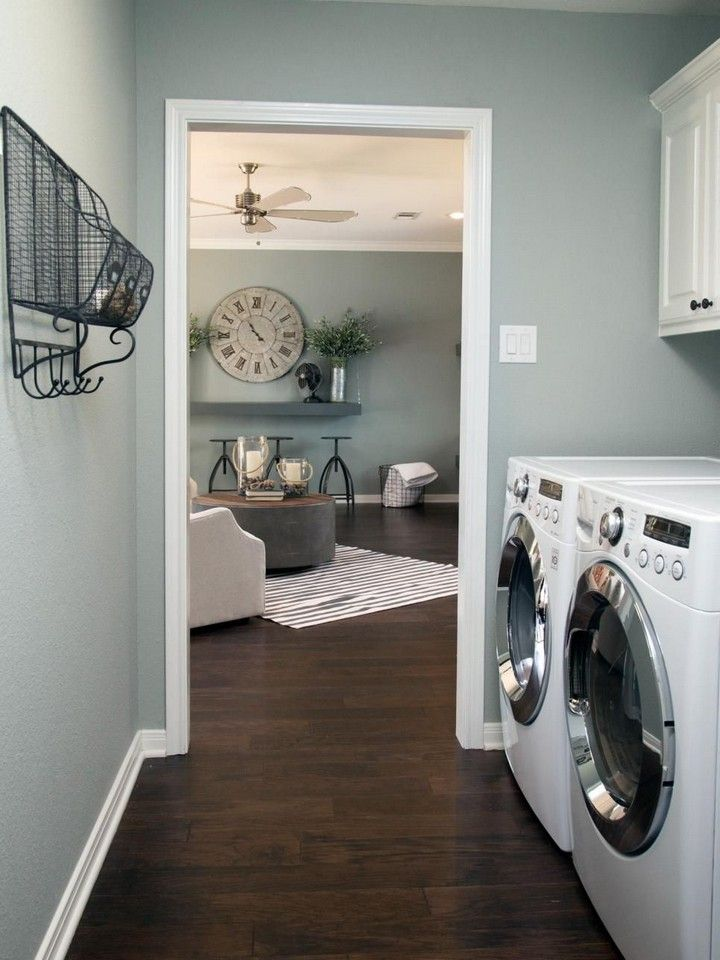 best paint colors for your laundry room in 2020 wood on paint for laundry room floor ideas images id=78513