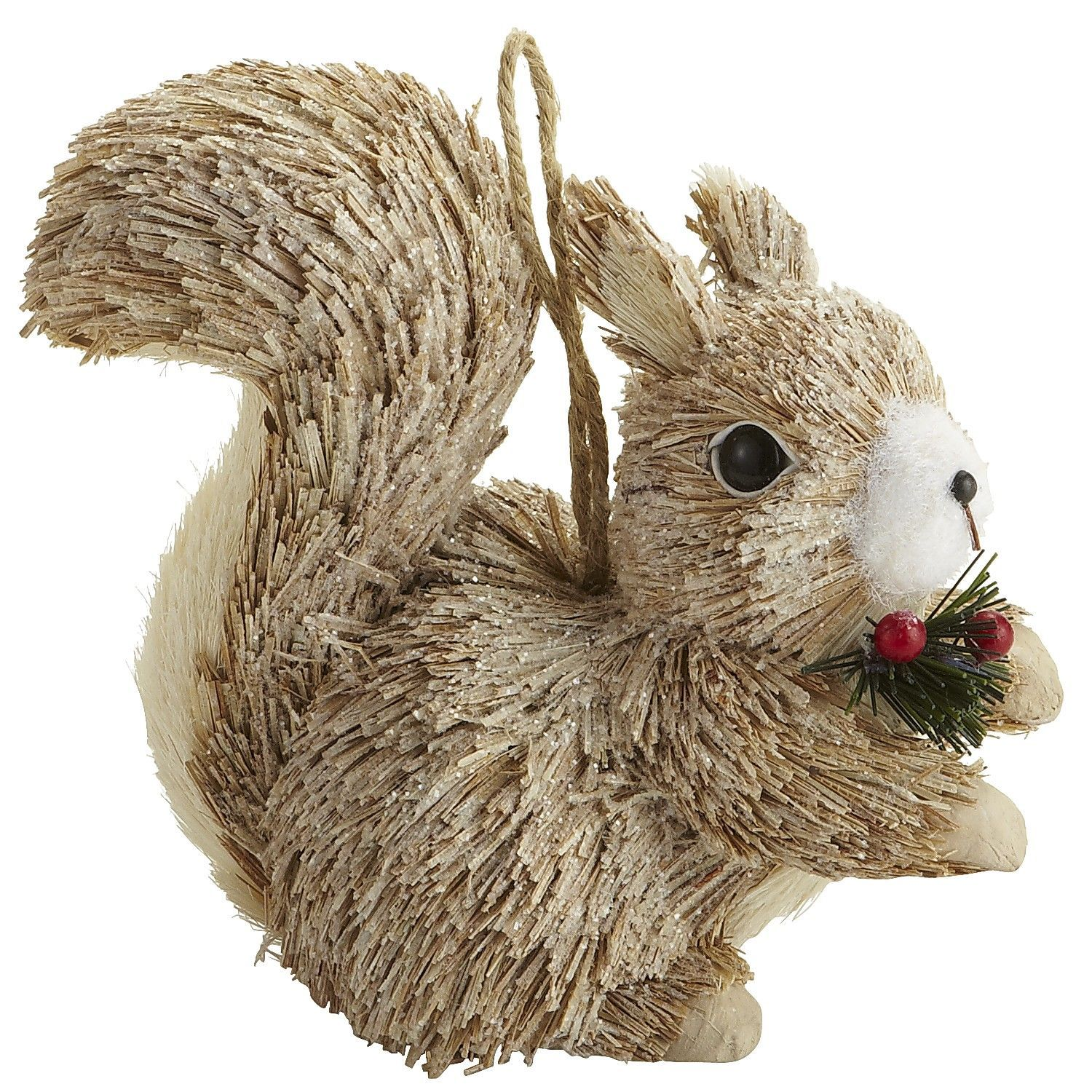 Nature's Merriment: Pier 1 Natural Squirrel Ornament | Pinterest ...