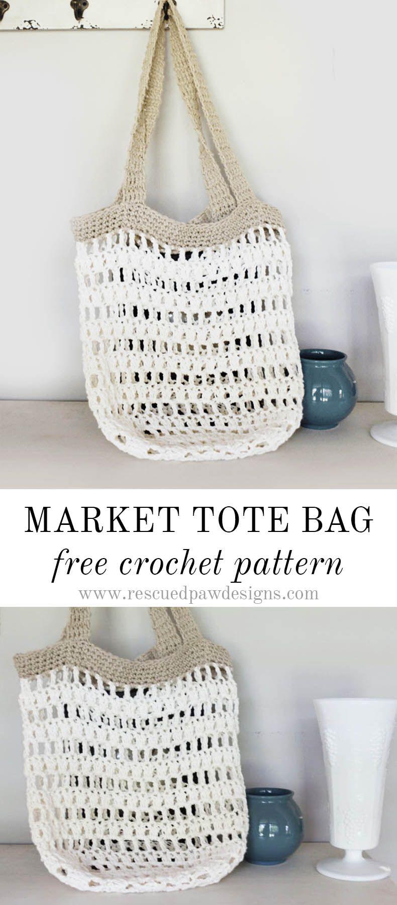 Market Tote Bag | Para amigos, Monederos y Patrones