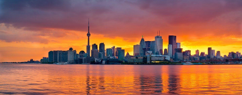City Internships In Canada Hero Image Toronto Skyline Toronto City Skyline