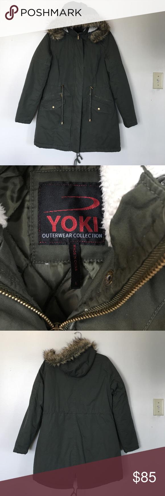 Yoki Jacket Size Large Clothes Design Coats Jackets Women Womens Utility Jacket [ 1740 x 580 Pixel ]