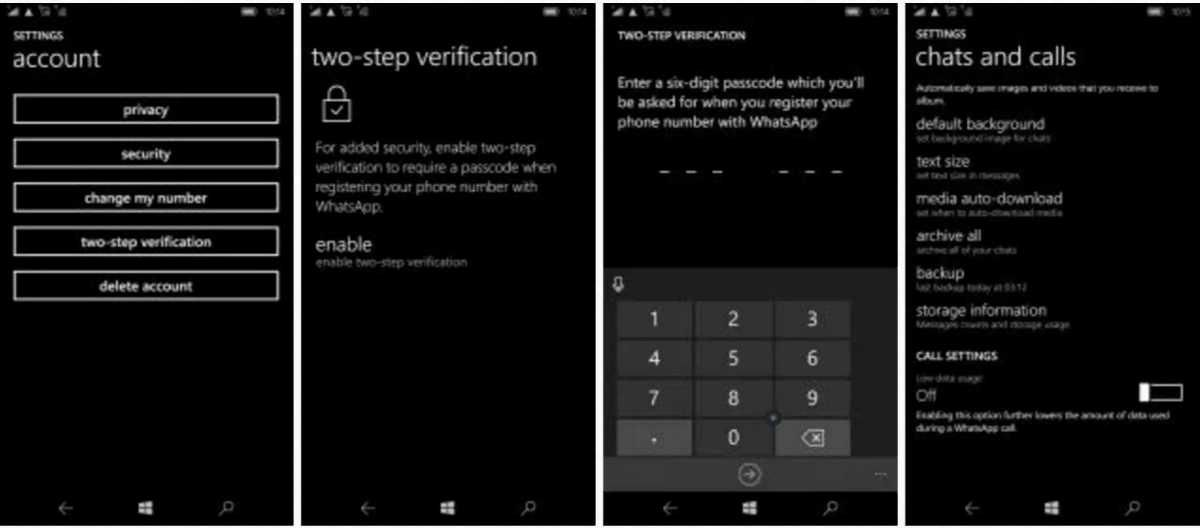 The authenticator app, showing Outlook, Contoso and