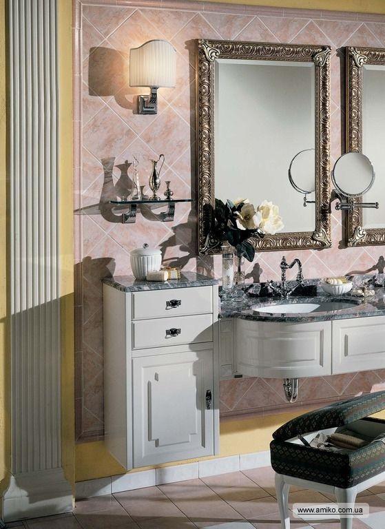 Мебель для ванных комнат Lineatre: Silver