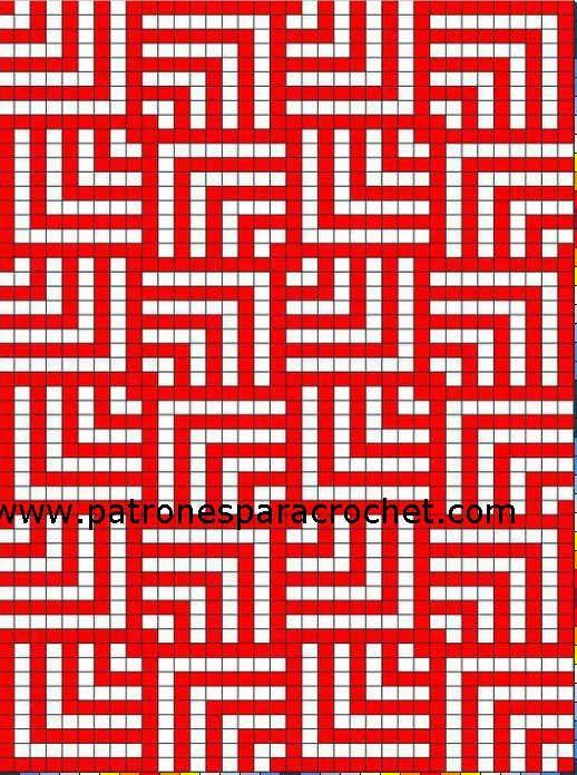 16 Patrones de Diseños Wayuu para Mochilas Crochet / Gratis | Free ...