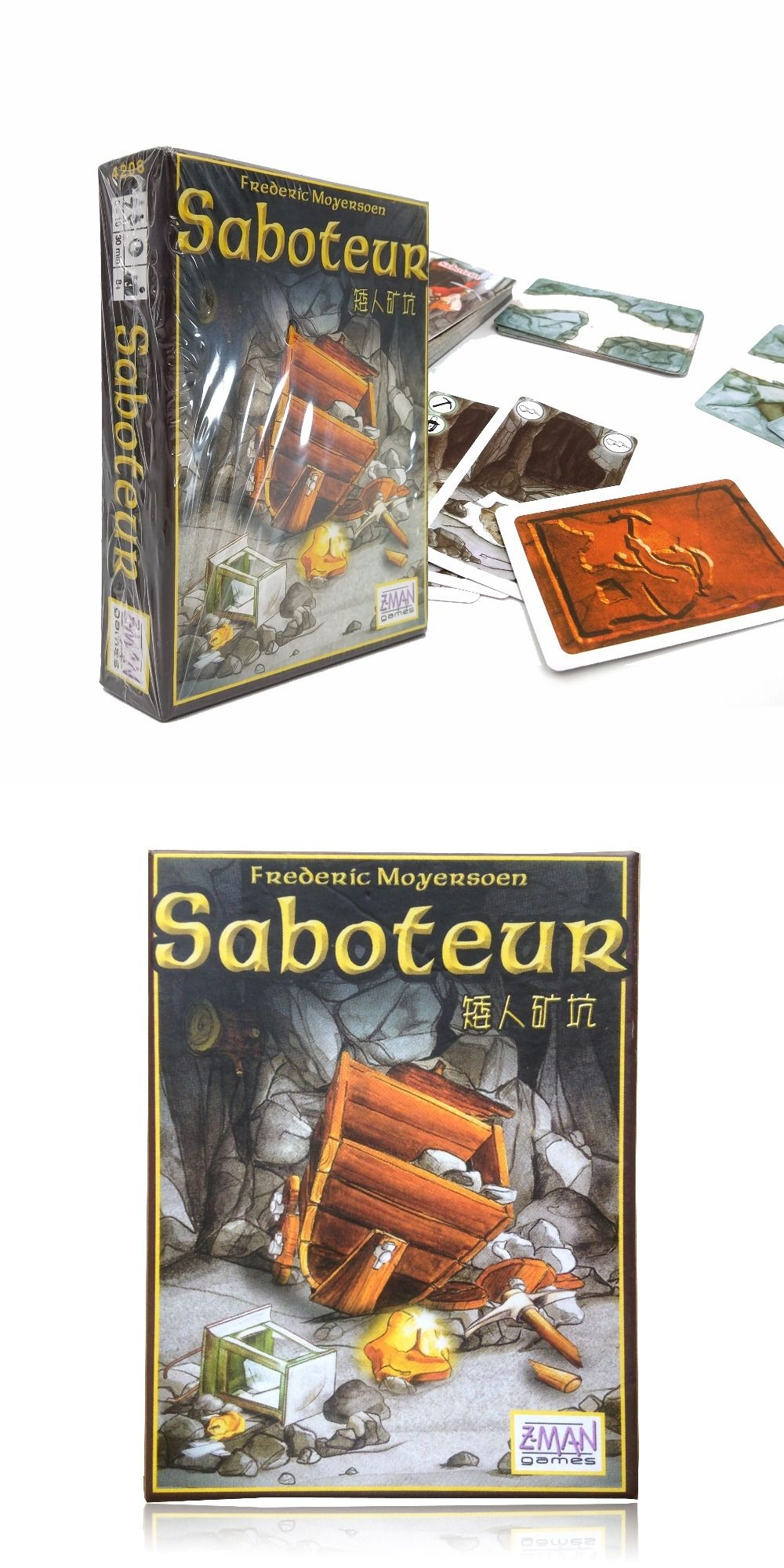 Hot Sale Multiple Language Rules Saboteur 1 Saboteur 2 Expansion