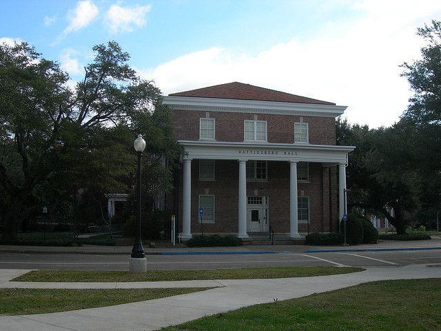 This is Hattiesburg Hall.