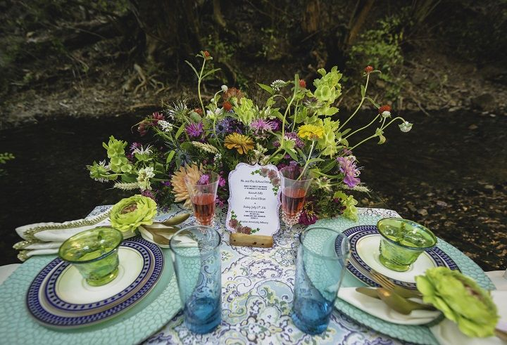 Chic Bohemian wedding decorations | fabmood.com #bohemianwedding #weddingdecorations
