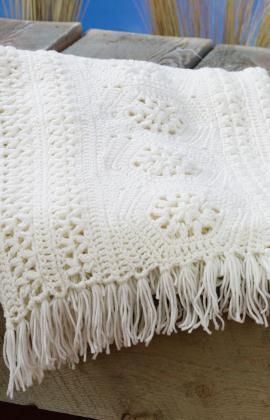 58 Crochet Afghan Patterns Using the Popcorn Stitch, Bobble Stitch, Puff Stitch…