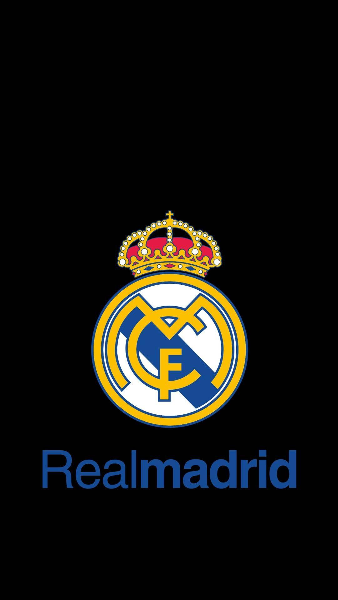 Real Madrid Cf Phone Tablet Wallpaper Black Background Real Madrid Wallpapers Madrid Wallpaper Real Madrid