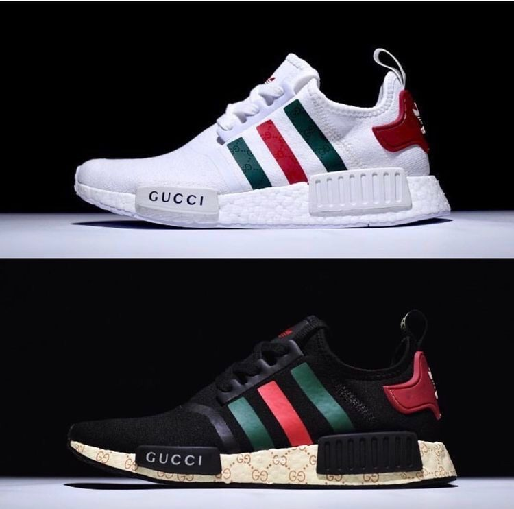 new product 154b1 fb4bb Women Shoes  21 on   Gucci   Gucci sneakers, Sneakers fashion, Adidas nmd