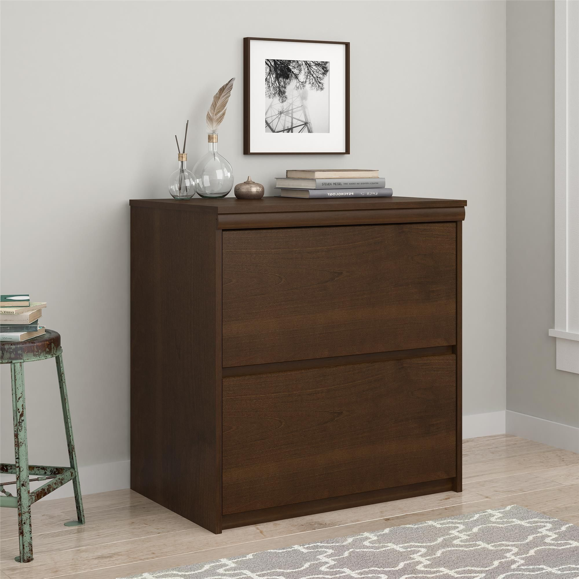 plete your office space with the Ameriwood Home Presley Lateral