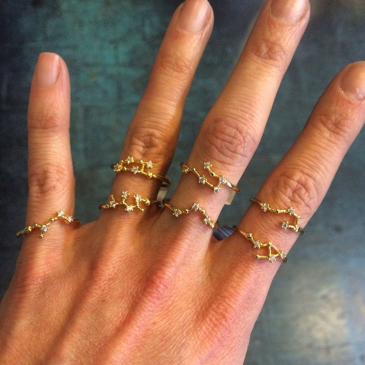 constellation rings for your zodiac sign