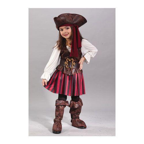 Niña Pirata Disfraces De Chicas Piratas Traje De Pirata Para Niña Disfraz Pirata Niño
