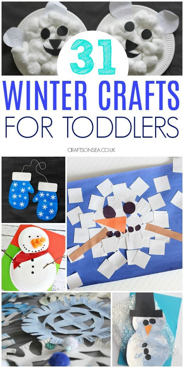 Easy And Fun Winter Crafts For Toddlers Quick Tricks Pinterest