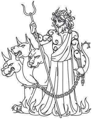 Greek Gods Hades Art Pages Greek Gods Greek Art