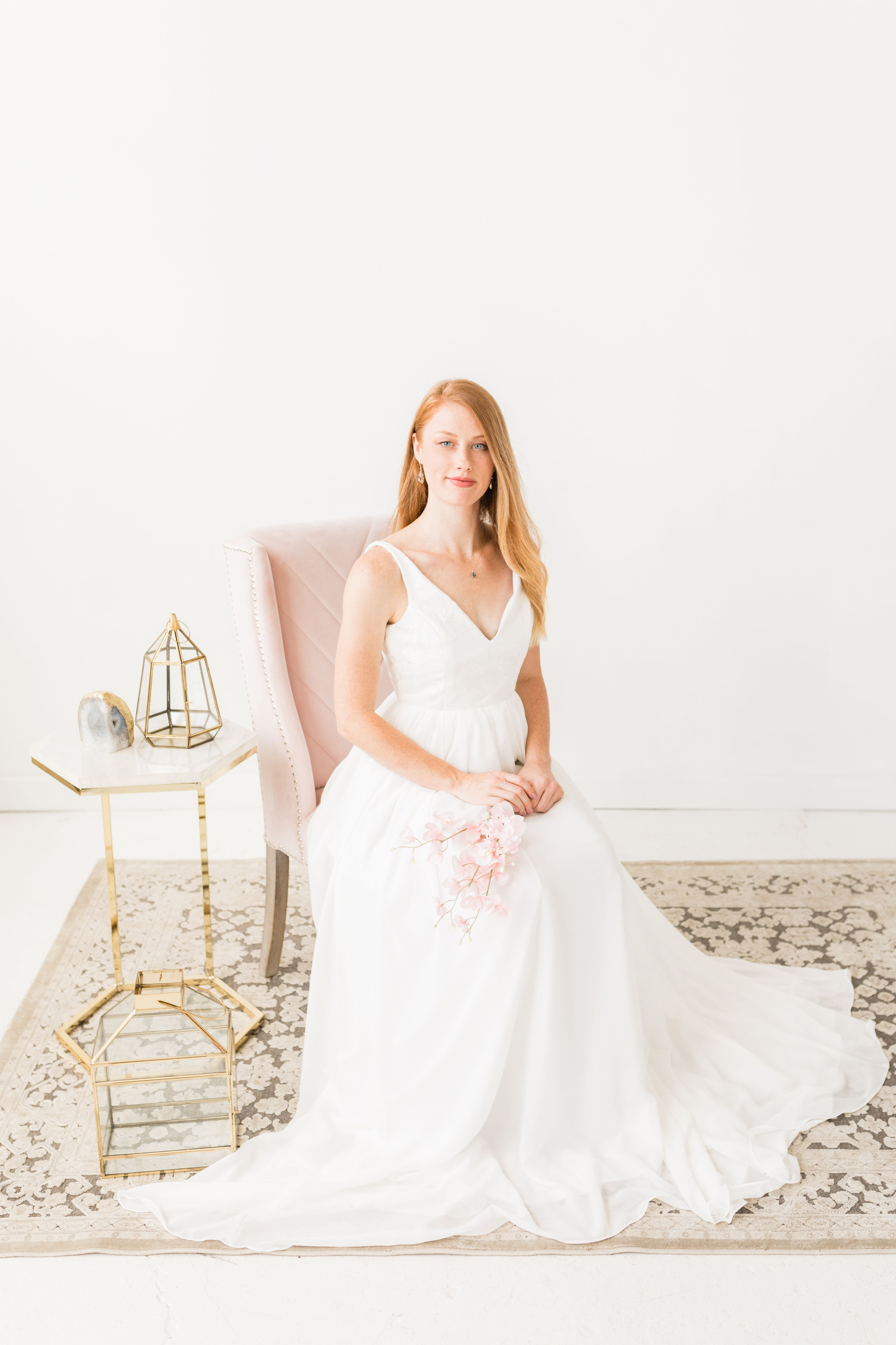 Hyacinth Bridal S 2019 Collection Look Book Creative Director Stylist And Planner Perry Rose Media Ph Crepe Wedding Dress Wedding Dresses Romantic Dress
