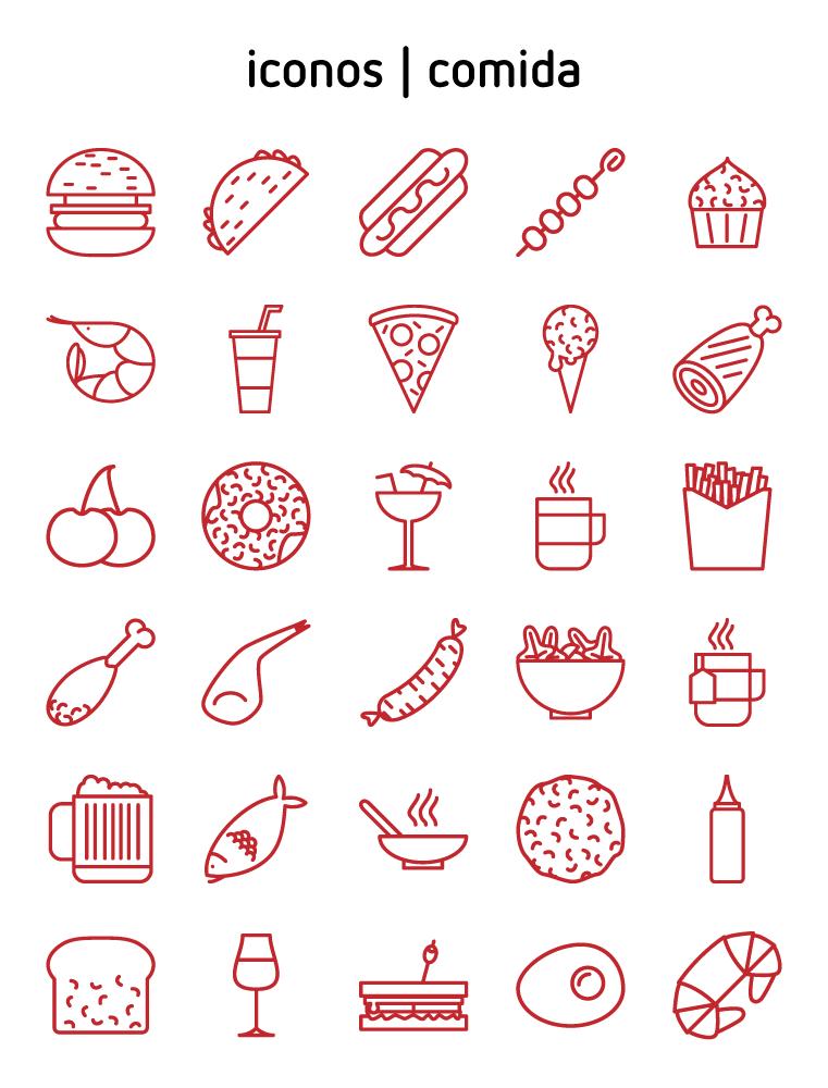 iconos | comida 1 http://javimont.com/