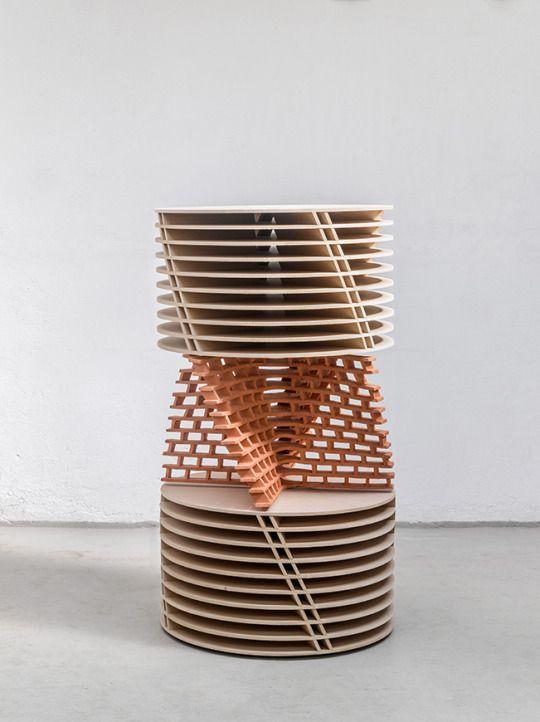 Pop Up X Geometric Sculpture Repetition Art Sculpture Installation