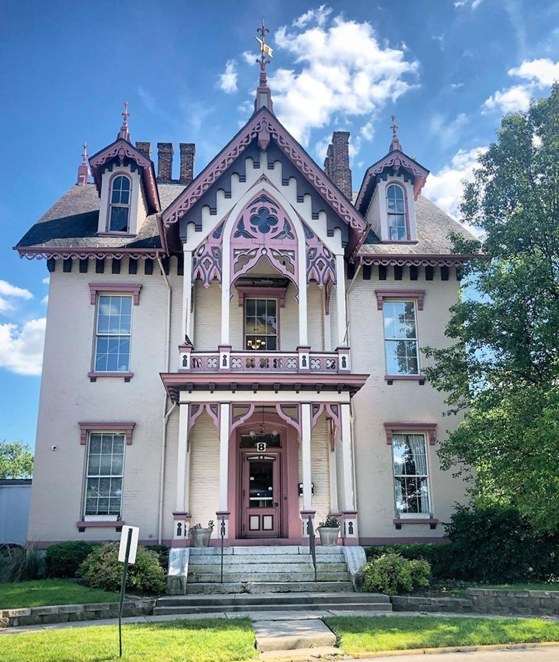 Oscar M Gotschall House East Dayton Ohio Dayton Architecture Victorian Homes Architecture House House Built