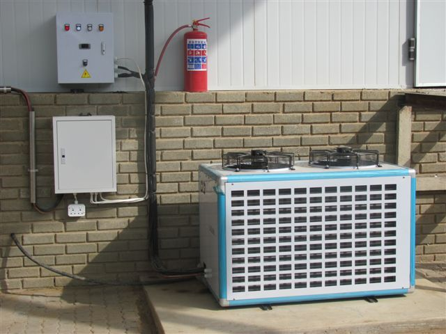 Africhill Offers A Full Range Of Condensing Units Air Cooled Condensers And Fluid Coolers For Commercial Refrigeration Co Cold Room Harrismith Dairy Farms