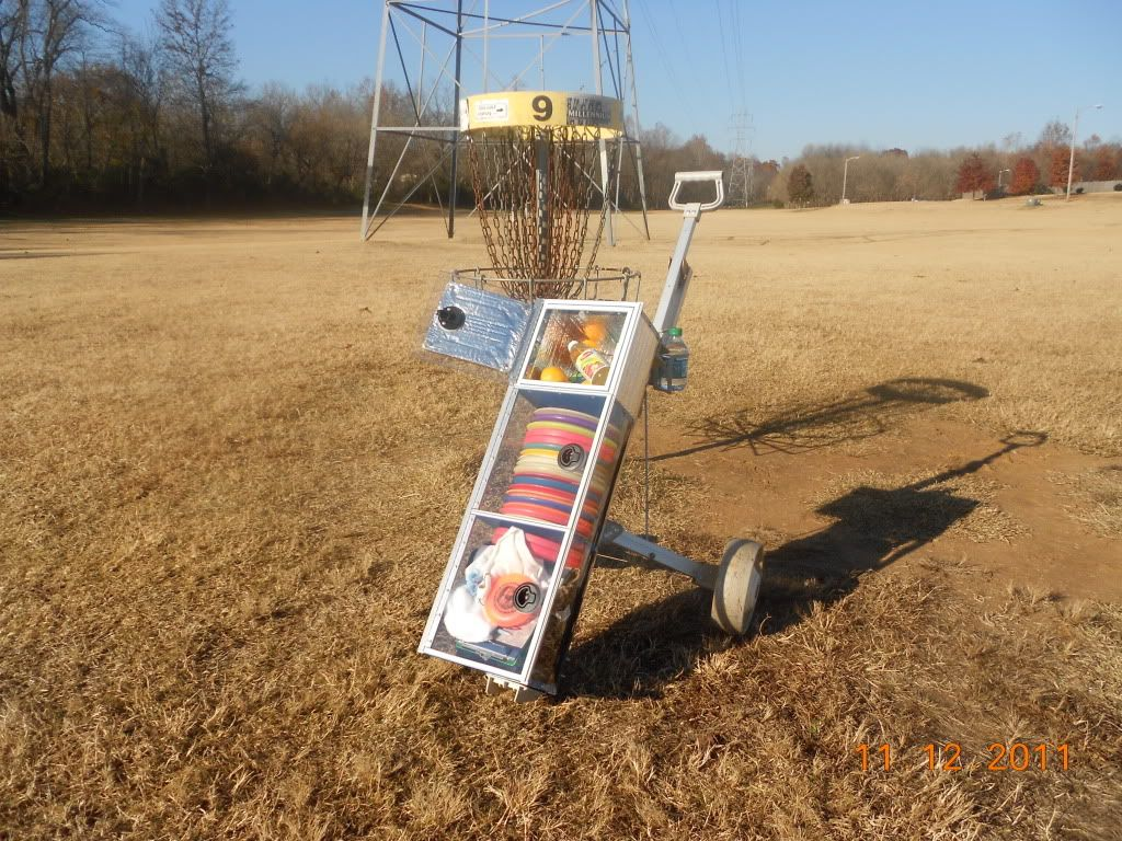 View topic Disc Golf Cart/Trolley? Disc golf, Disc