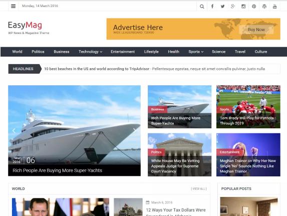 10 Best Three Column WordPress Themes (Free and Premium) Today, we ...