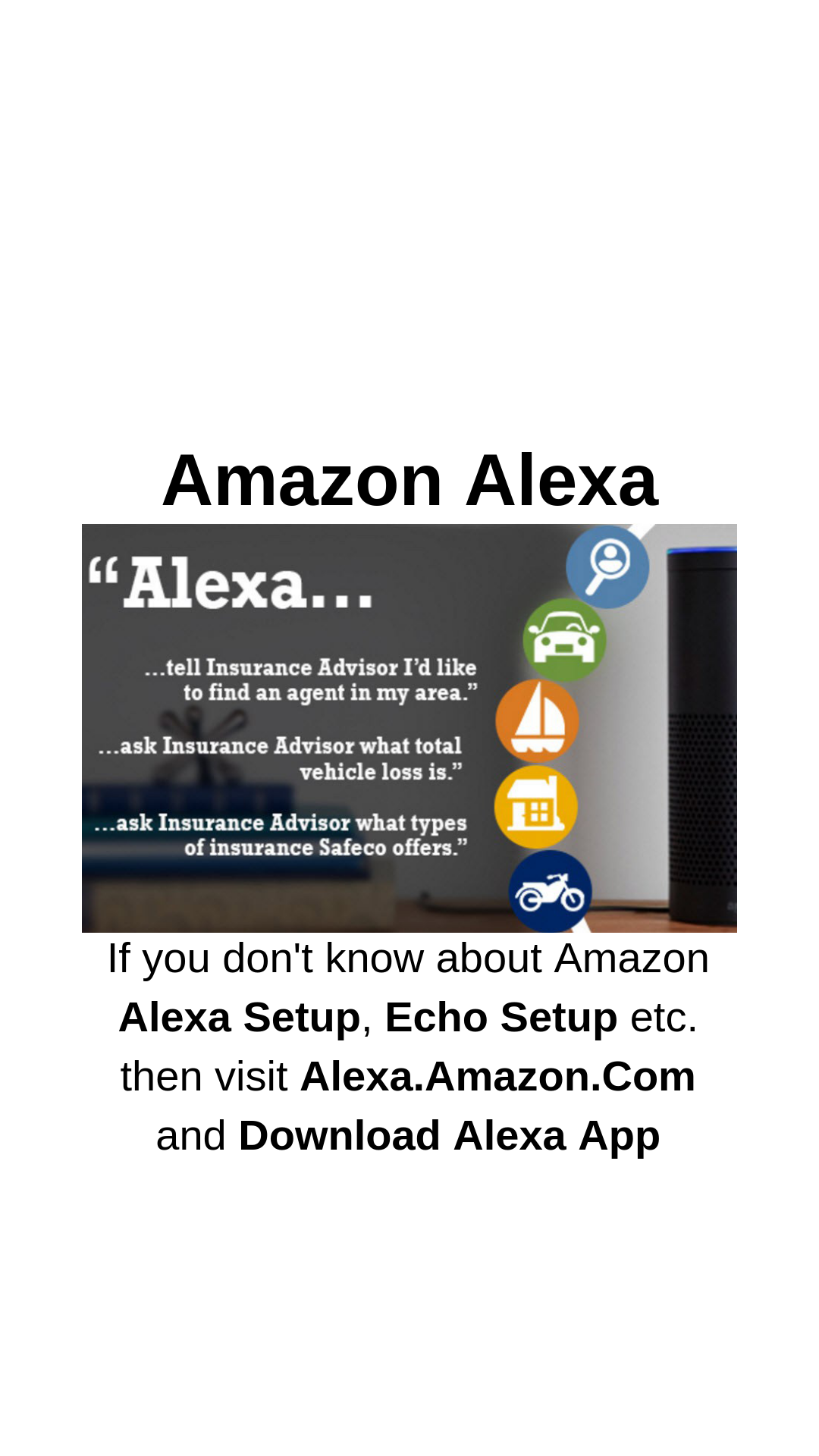 Amazon Alexa App Alexa app, Download alexa app, Alexa setup