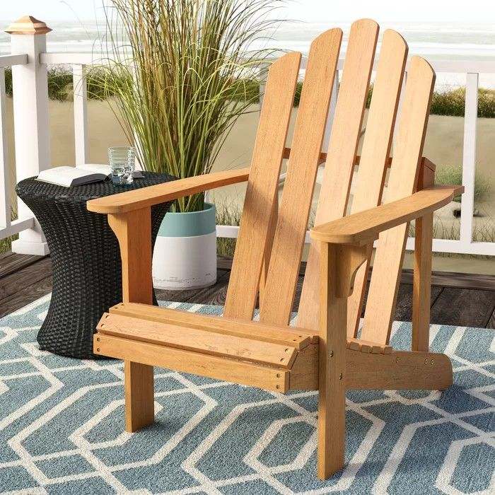 Patio Time! Adirondack chair, Solid wood chairs, Wood