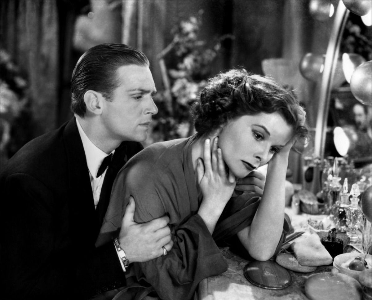 Douglas Fairbanks Jr and Katharine Hepburn in Morning Glory-1933. Hepburn  won her 1st best actress oscar for … | Katharine hepburn, Best actress  oscar, Best actress