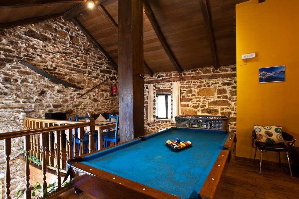 Asturias Casa Rural Con Mesa De Billar Y Futbolín En Navelgas Asturias Casas Rurales Billares Futbolín