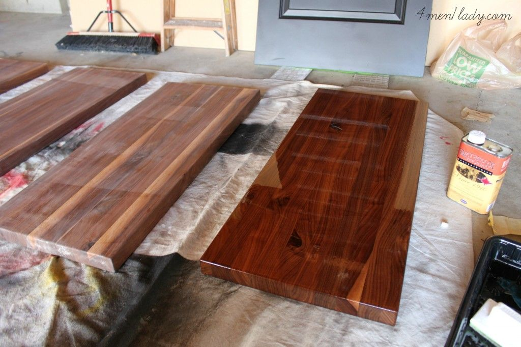 Best product for finishing wood counters. Wood counter
