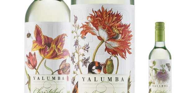 Floral Vino Branding  Harcus Design Outfits Christobel's Wine with a Fine Flowery Labe