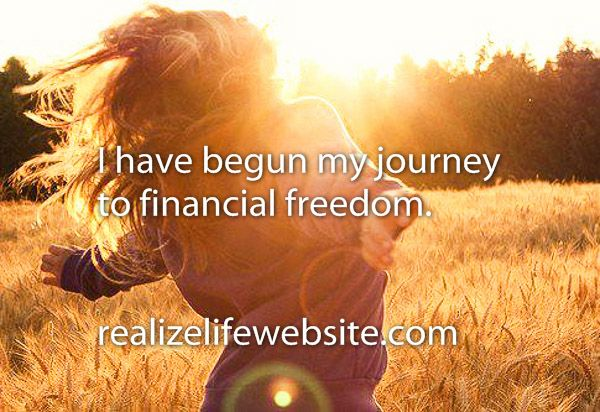 PIN IT if you've done it!!! Here's how I started my journey to financial freedom: http://realizelifewebsite.com/2014/10/04/finding-financial-freedom/    xoxoxoxo  -Crystal