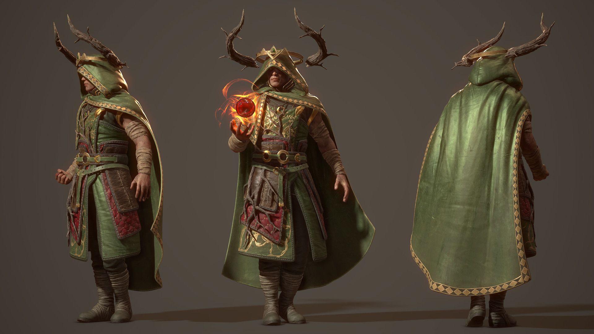 ArtStation - Greenblood King - Ancient Civilization Challenge , Andrea Orioli