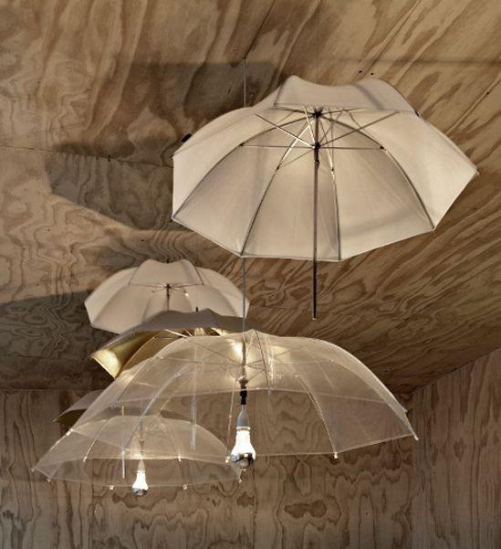 il pleut sortez vos parapluies luminaire original parapluies et luminaires. Black Bedroom Furniture Sets. Home Design Ideas