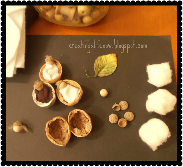 Creating A Life: Candles, Garland and Nut Babies, Oh My!