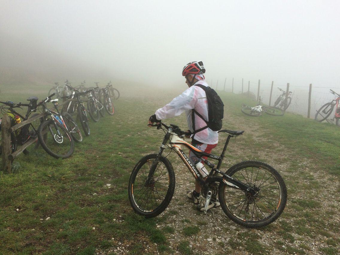 Il Custode nella nebbia del monte Labro
