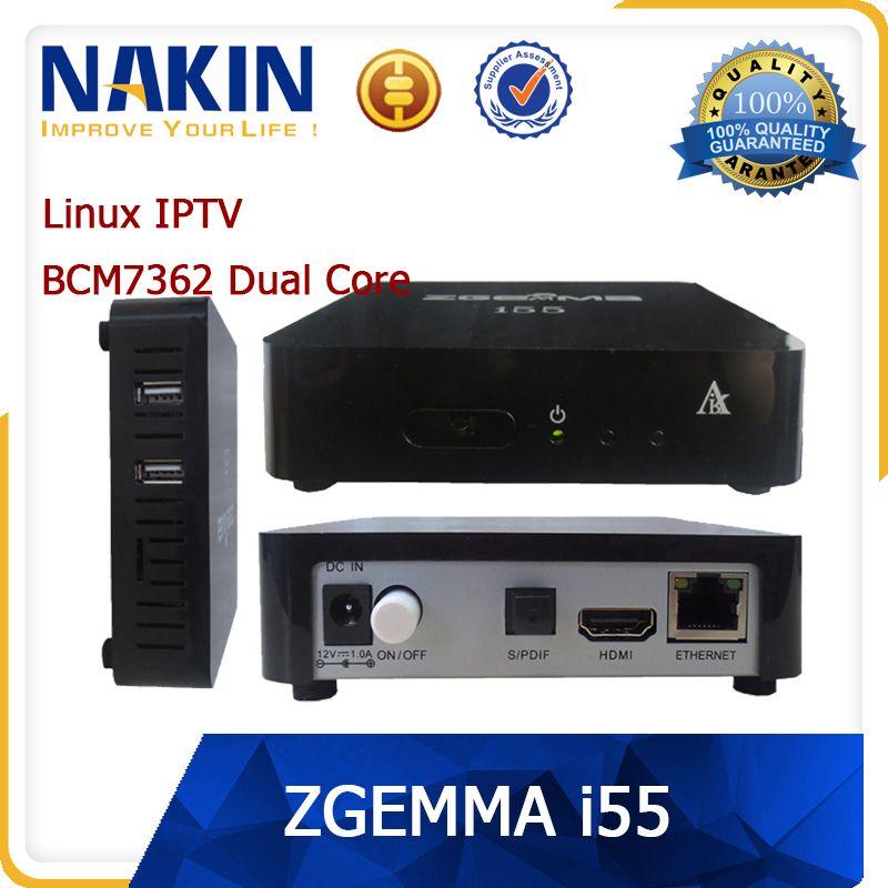 Fast Speed Best ENIGMA 2 LINUX OS IPTV Set Top BOX ZGEMMA