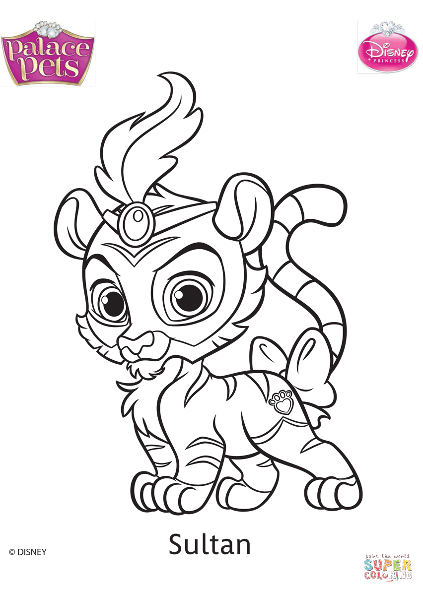 Disney Pets Coloring Pages 6 by Katelyn | Coloring pages ...