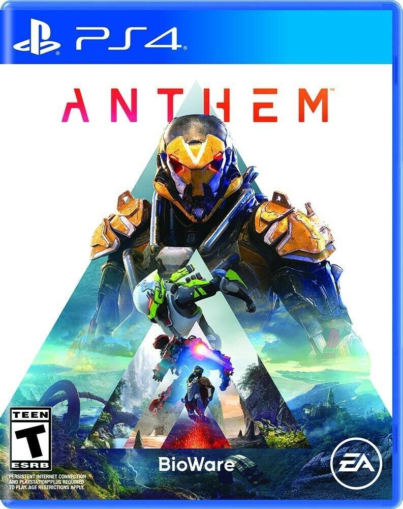 Anthem PS4 Playstation 4 Standard Physical Edition (2019