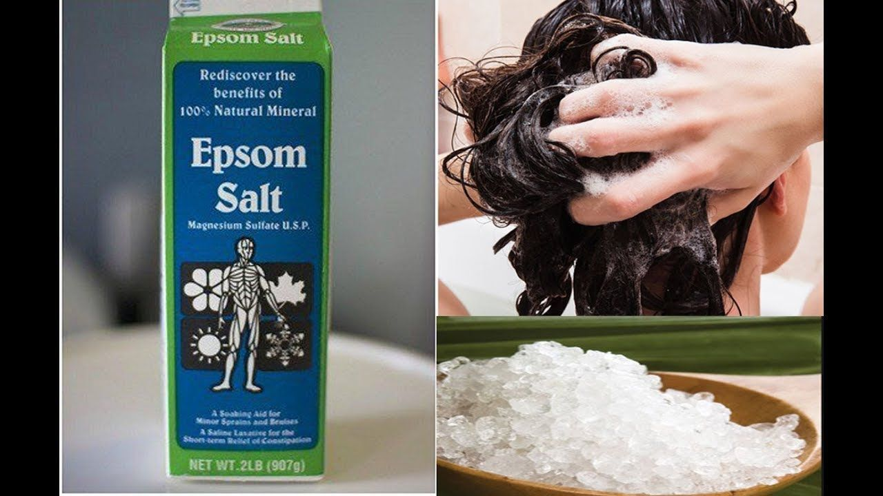 Epsom salt is a mineral compound that contains magnesium