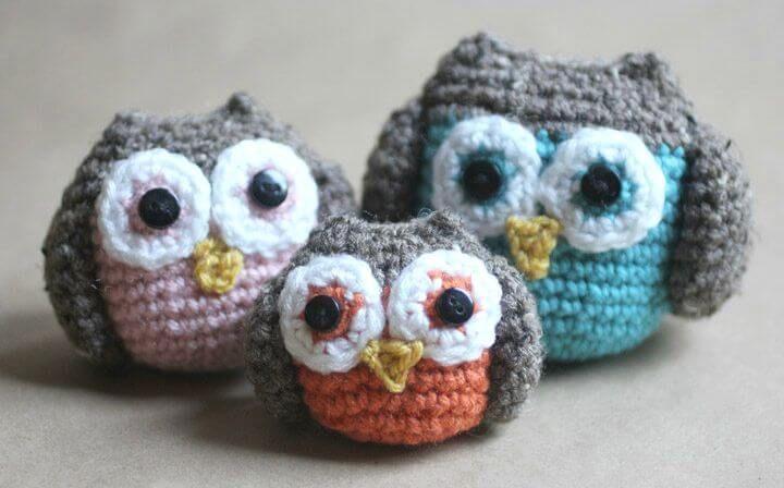 Crochet Owl 92 Free Crochet Owl Patterns Owl Patterns Crochet