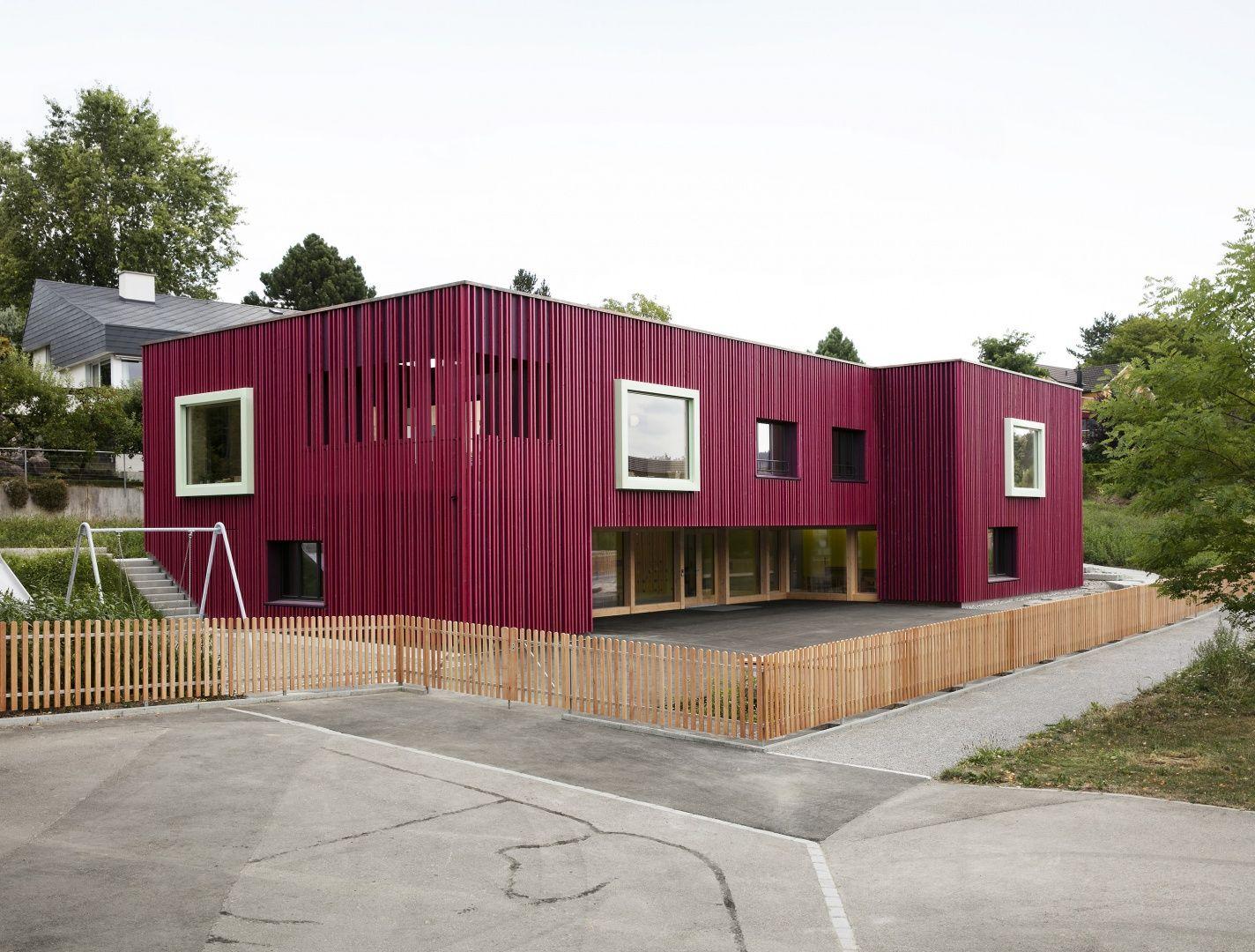 Doppelkindergarten Wiesendangen | Schweizer Baudokumentation