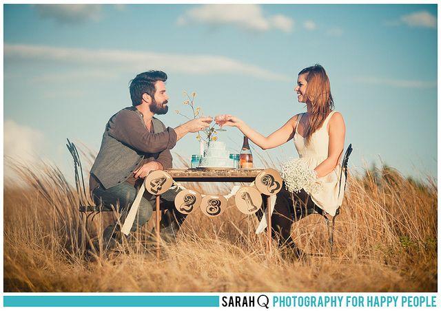 picnic in the field-- so cute! (photo cred: sarah quiara)