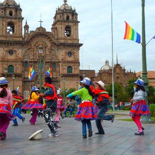 Plaza de arma, Cusco - Perú