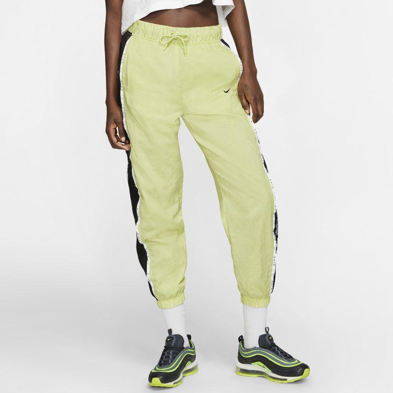Nike Sportswear Women's Woven Trousers Green in 2020