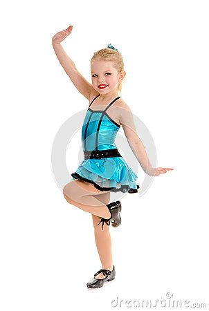8a806c322 Cute and Sassy Child Tap Dancer in Costume by Lorraine Swanson