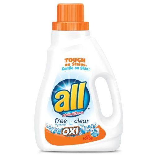 All Oxi Laundry Detergent 26 Loads Produtos De Limpeza