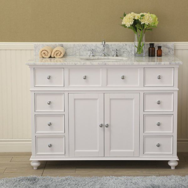 The Eva is a beautiful cottage style bathroom vanity with ...